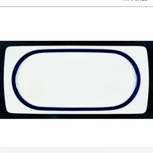 "Thomas Cobalt 14"" Rectangular Serving Platter"